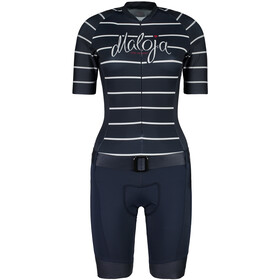 Maloja ViluornaM. Fietspak Dames, mountain lake stripe